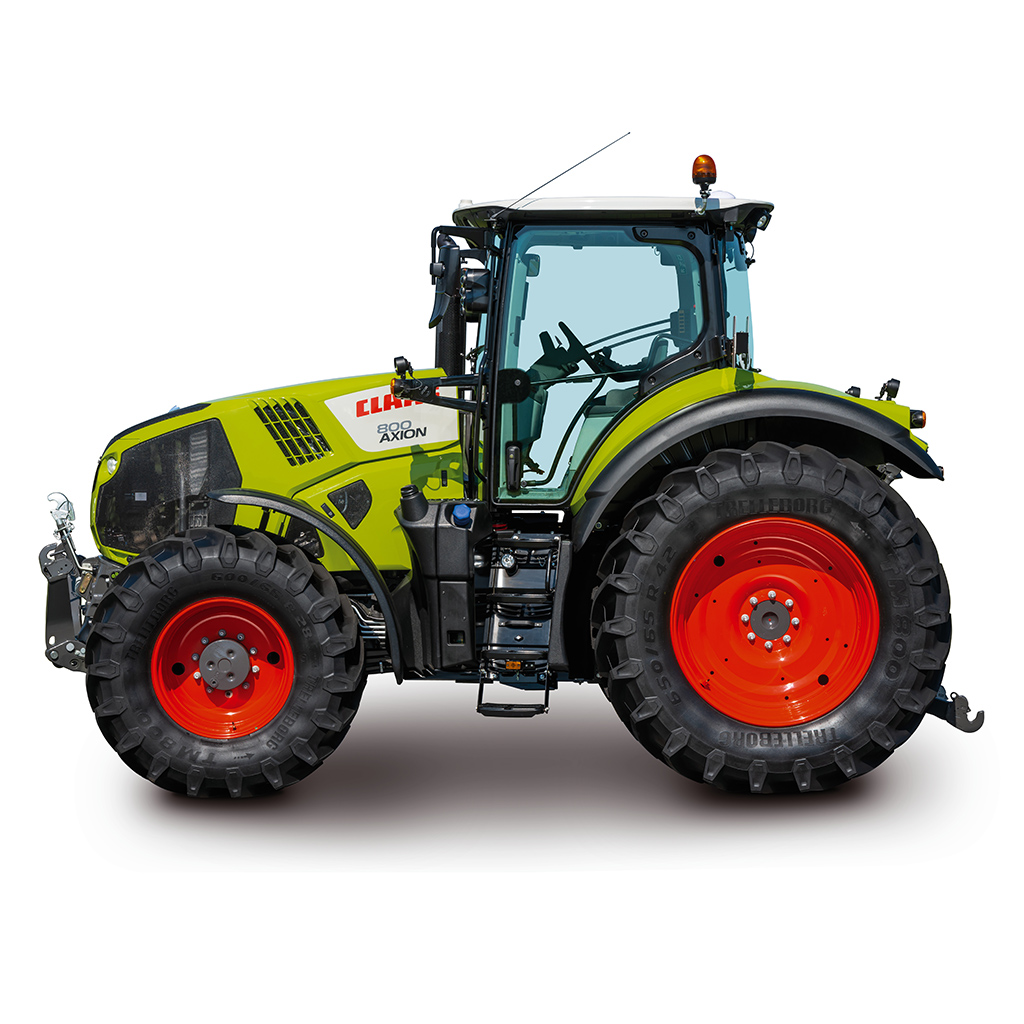 Claas Axion 800 traktori Hexashift-powershiftvaihteistolla