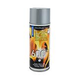 Spraymaali kuumakesto 600°C hopea 400ml maston