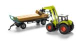 Claas Axion 850 + Paalivaunu 1:50