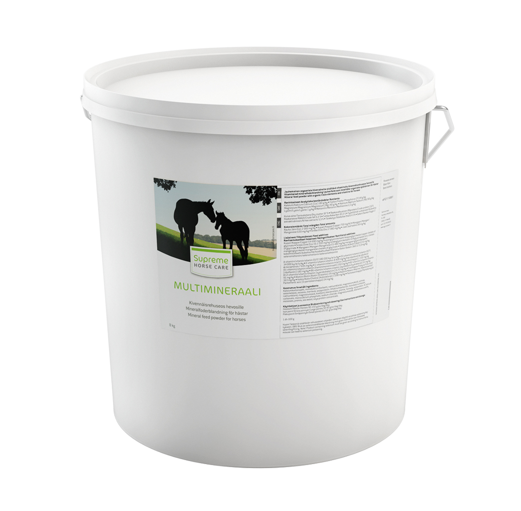 Supreme Horse Care Multimineraali 8 kg