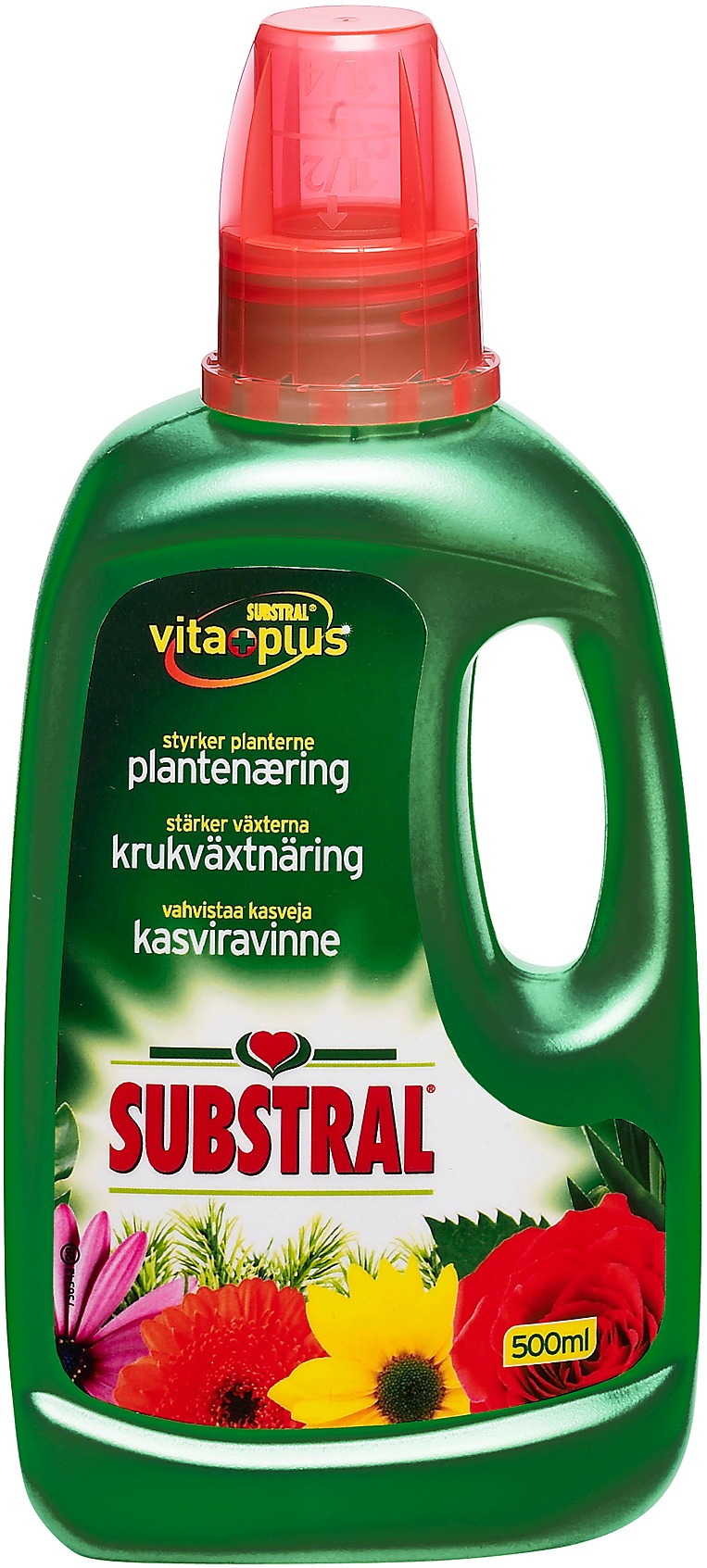 Substral viherkasviravinne 500 ml