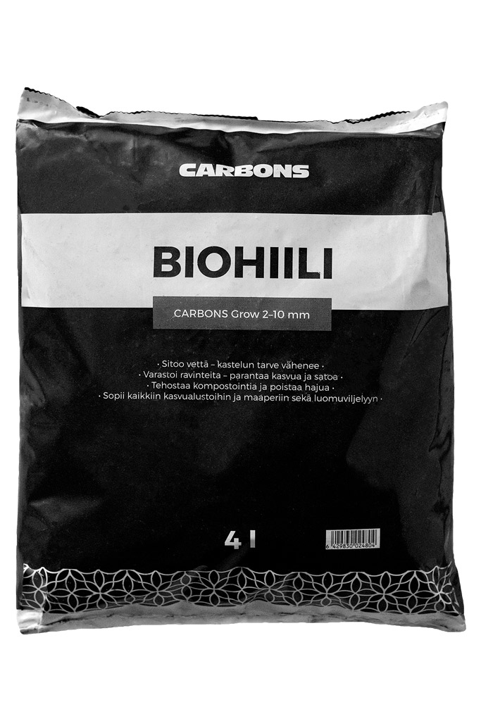 Biohiili Carbons Grow 4l