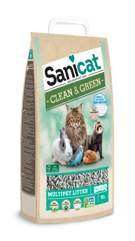 Kissanhiekka Sanicat Clean&Green 10 l