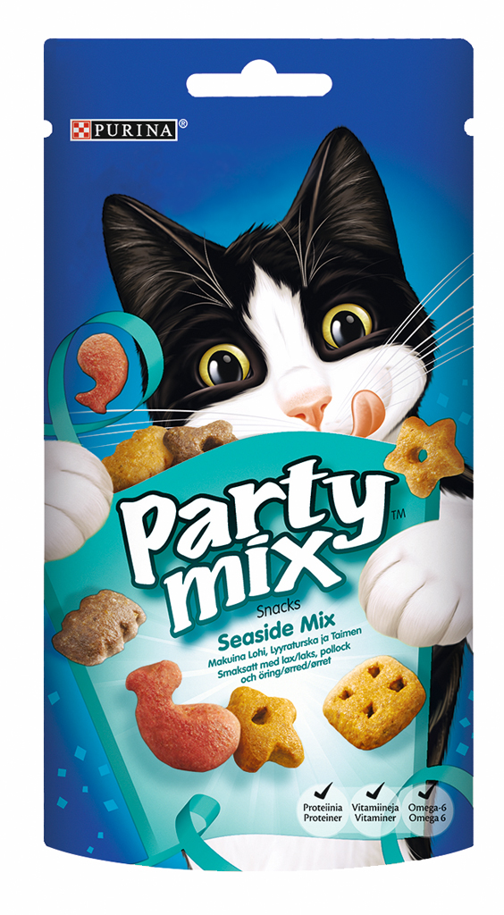 Kissanherkku Party Mix Seaside 60 g