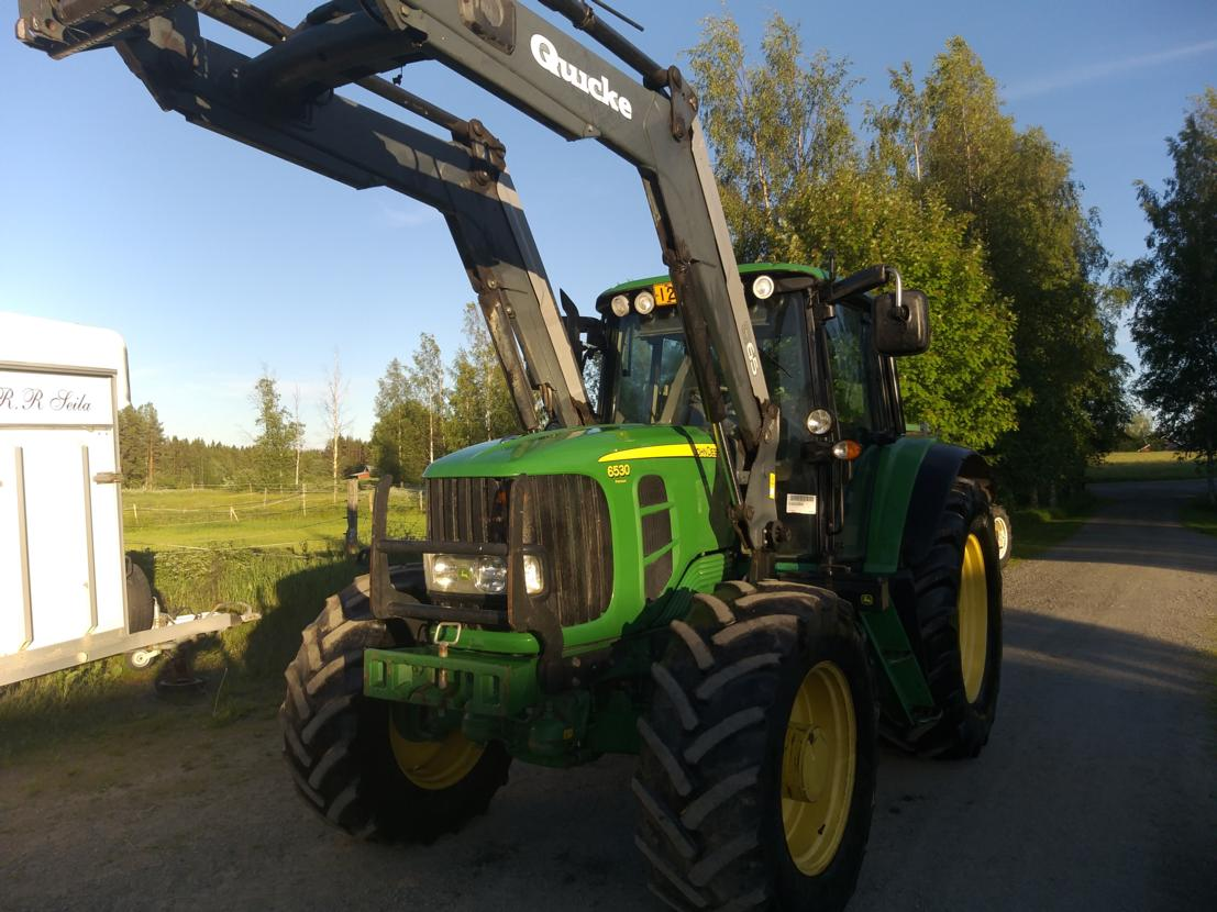John Deere 6530 Prem.plus Quicke 65
